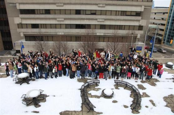 GRCC Students Pass it Forward in Honor of Martin Luther King