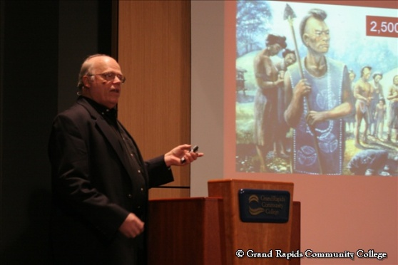 Gordon Olson at GRCC's 2010 Race and Ethnicity Conference