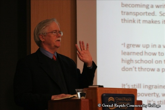 Dr. Gary Burbridge at the Race and Ethnicity Conference 2010