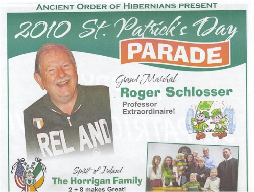 Grand Marshall Roger Schlosser