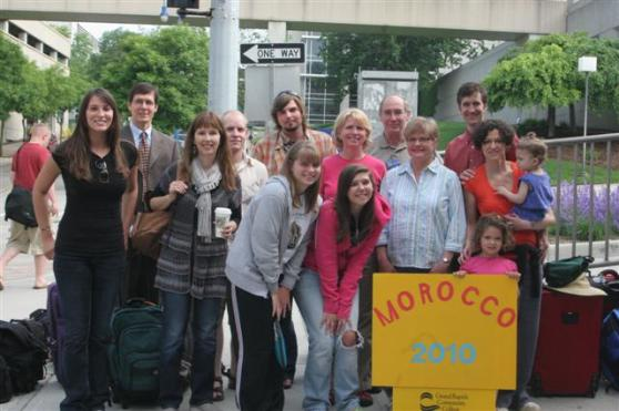 Students Leaving for Morocco