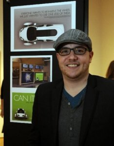 Ryan Lockwood at the 2011 Addy Awards Courtesy of the Grand Rapids Press
