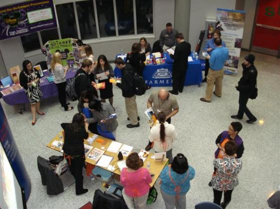 Student Employment Services Job Fair, March 16, 2011