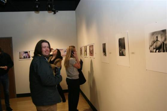 GRCC Student Photography Exhibition Reception 1-17-12