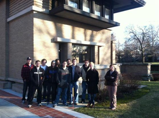 HS 293 Visits Meyer May House