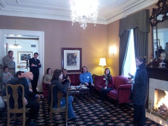 Dina Temple-Raston Speaks at GRCC Social Sciences Reception.