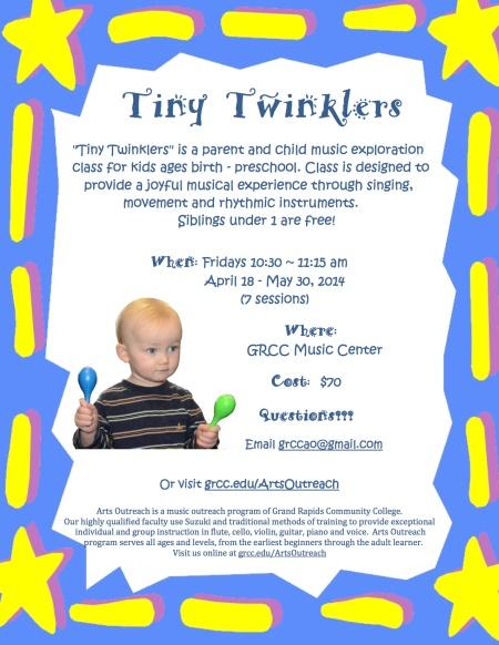 Tiny Twinklers 2014 Spring