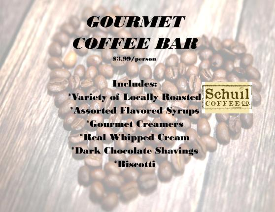 Gourmet Coffee Bar Sign