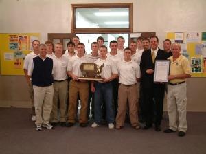 The 2003 GRCC baseball team.