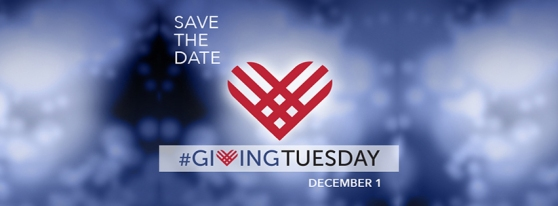 Save the Date. #GivingTuesday. December 1