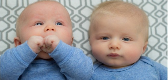 Two infant boys