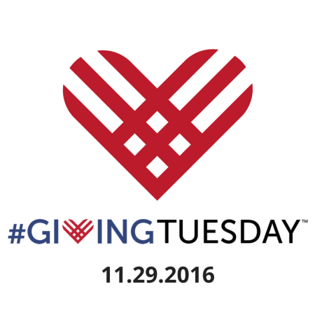 #GivingTuesday. Nov. 29, 2016