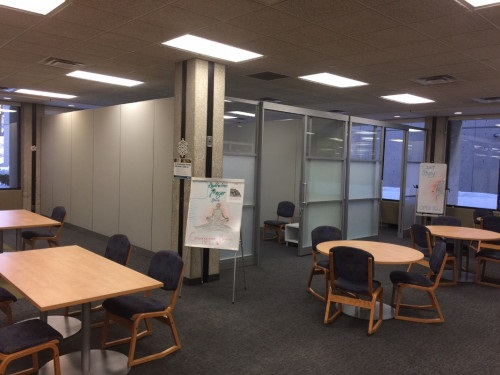 The library's Meditation and Prayer Room.