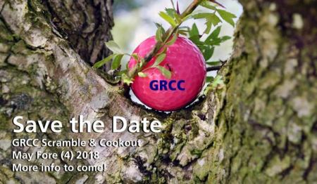 Save the Date: GRCC Scramble & Cookout on May 4, 2018