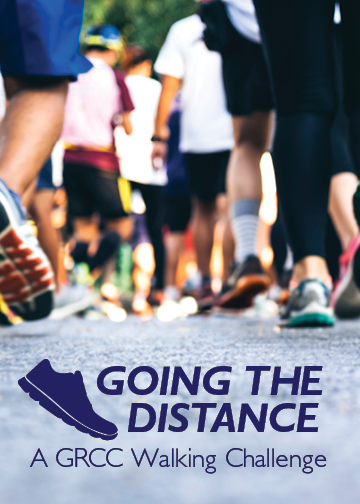 Going the Distance. A GRCC Walking Challenge.