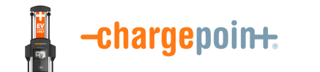 ChargePoint logo for EV charging stations