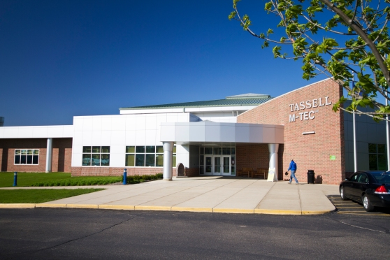 Photo of the Leslie E. Tassell M-TEC building.