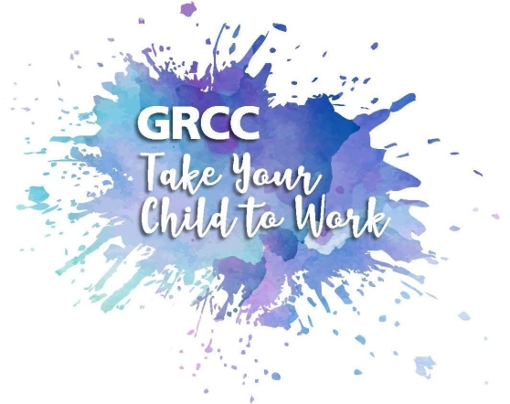 Logo for GRCC Take Your Child To Work day event