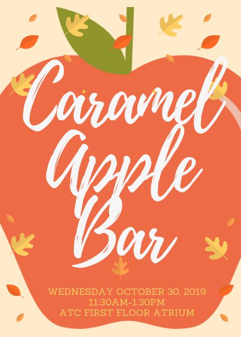"""Caramel Apple Bar"" graphic"