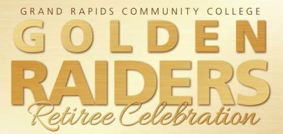 Golden Raiders Retiree Celebration flyer