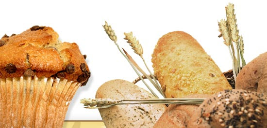 Picture of bread and muffins.