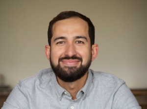 Salvador Lopez smiling.