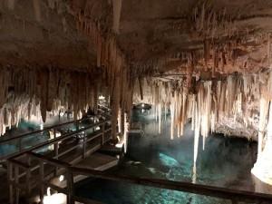 Underground cave in Bermuda.