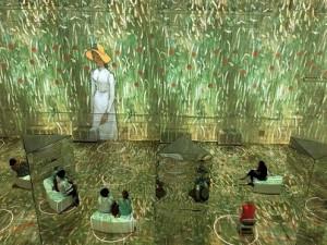 Immersive Van Gogh exhibit.