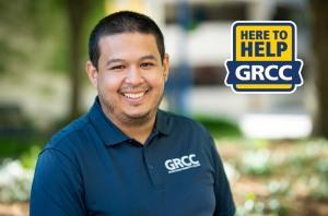 Jose Mora, GRCC's new student orientation coordinator.
