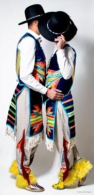 Native American Sweetheart Dancers.